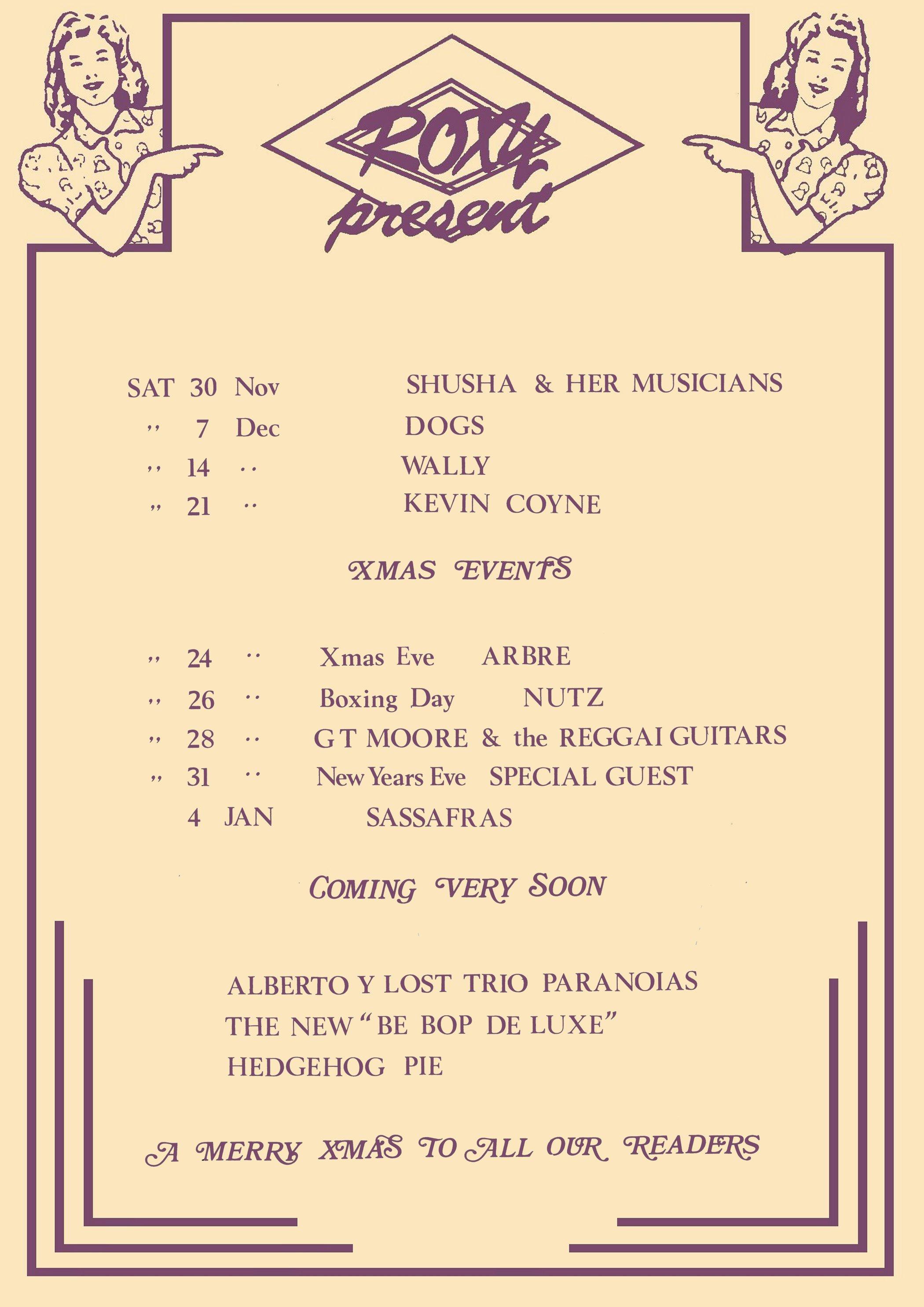 Roxy poster 1974